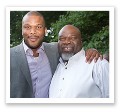 TD Jakes and yler Perry
